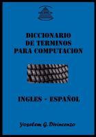 Diccionario De Términos Para Computación