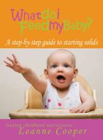 What Do I Feed My Baby