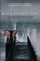 Black & Blue Sari