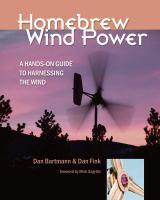 Homebrew Wind Power