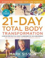 The Primal Blueprint 21-Day Total Body Transformation
