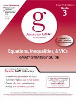 Equations, Inequalities, & VICs