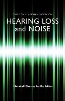 The Consumer Handbook on Hearing Loss and Noise