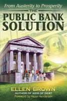 The Public Bank Solution