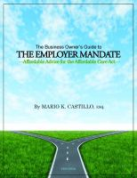 The Business Owner's Guide to the Employer Mandate