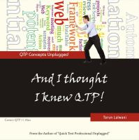 And I Thought I Knew QTP!