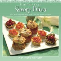 Tastefully Small Savory Bites