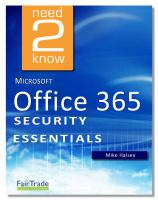 Microsoft Office 365 Security Essentials
