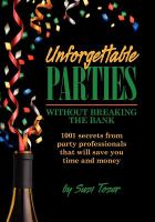 Unforgettable Parties Without Breaking the Bank