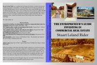 The Entrepreneur's Guide Investing in Commercial Real Estate