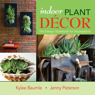 Picture of a Book Cover: Indoor Plant Decor
