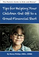 The Parents Guide to Kids and Money