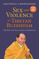 Sex and Violence in Tibetan Buddhism
