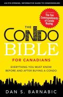The Condo Bible for Canadians