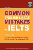 Common English Usage Mistakes at IELTS