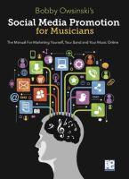 Bobby Owsinski's Social Media Promotion for Musicians