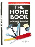 The National Home Maintenance Manual