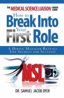 The Medical Science Liaison Career Guide