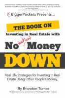 The Book on Investing in Real Estate With No (and Low) Money Down