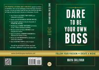 Dare to Be your Own Boss