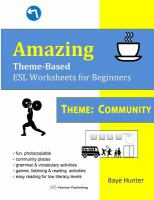 Amazing Theme-based ESL Worksheets for Beginners
