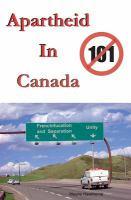 Apartheid in Canada