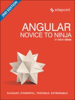 Angular 2: Novice to Ninja