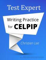 Test Expert Writing Practice for CELPIP