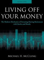 Living Off your Money