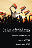 The War on Psychotherapy