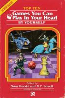 Top Ten Games You Can Play in your Head, by Yourself