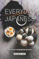 Cover of Everyday Japanese: Delicio