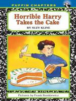 Horrible Harry Takes the Cake