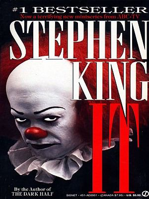 Stephen King's It  book cover