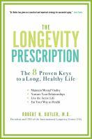 The Longevity Prescription
