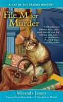 File M for Murder : A Cat in the Stacks Mystery