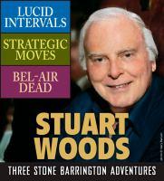 Stuart Woods Three Stone Barrington Adventures