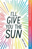 Image: I'll Give You the Sun