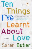 Ten Things I've Learnt About Love