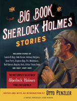 The Big Book of Sherlock Holmes Stories
