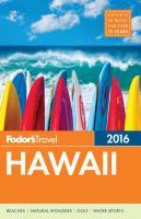 Fodor's 2016 Hawaii
