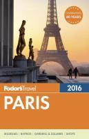 Fodor's 2016 Paris