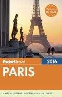 Fodor's Travel Paris  2016
