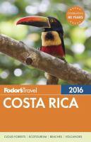 Fodor's 2016 Costa Rica