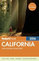 Fodor's 2016 California