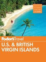 Fodor's U.S. & British Virgin Islands
