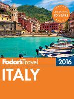 Fodor's 2016 Italy