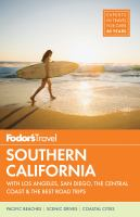 Fodor's Travel Southern California 2018
