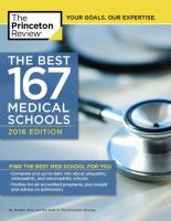 The Best 167 Medical Schools