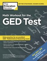 Math Workout for the GED Test